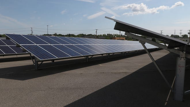 GM Component Holdings Inc. on Lexington Avenue added a 466 kilowatt solar array at its Rochester operations.  The facility supplies full injection systems and components for GM pick up trucks and large sport utility vehicles.