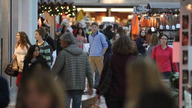 Shoppers flocked to Eastview Mall in Victor to get an early start on their Black Friday shopping last year.