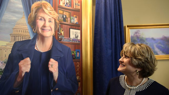 In 2015 Congresswoman Louise Slaughter was honored for her service on the House Rules Committee. Her official portrait was hung in the Capitol.