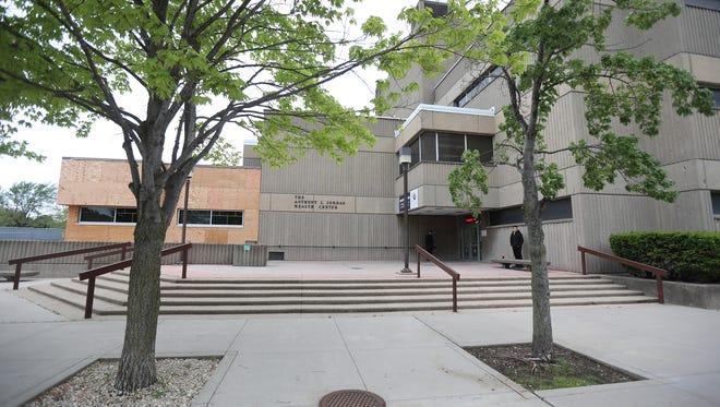 Anthony  L. Jordan Health Center on Holland Street.