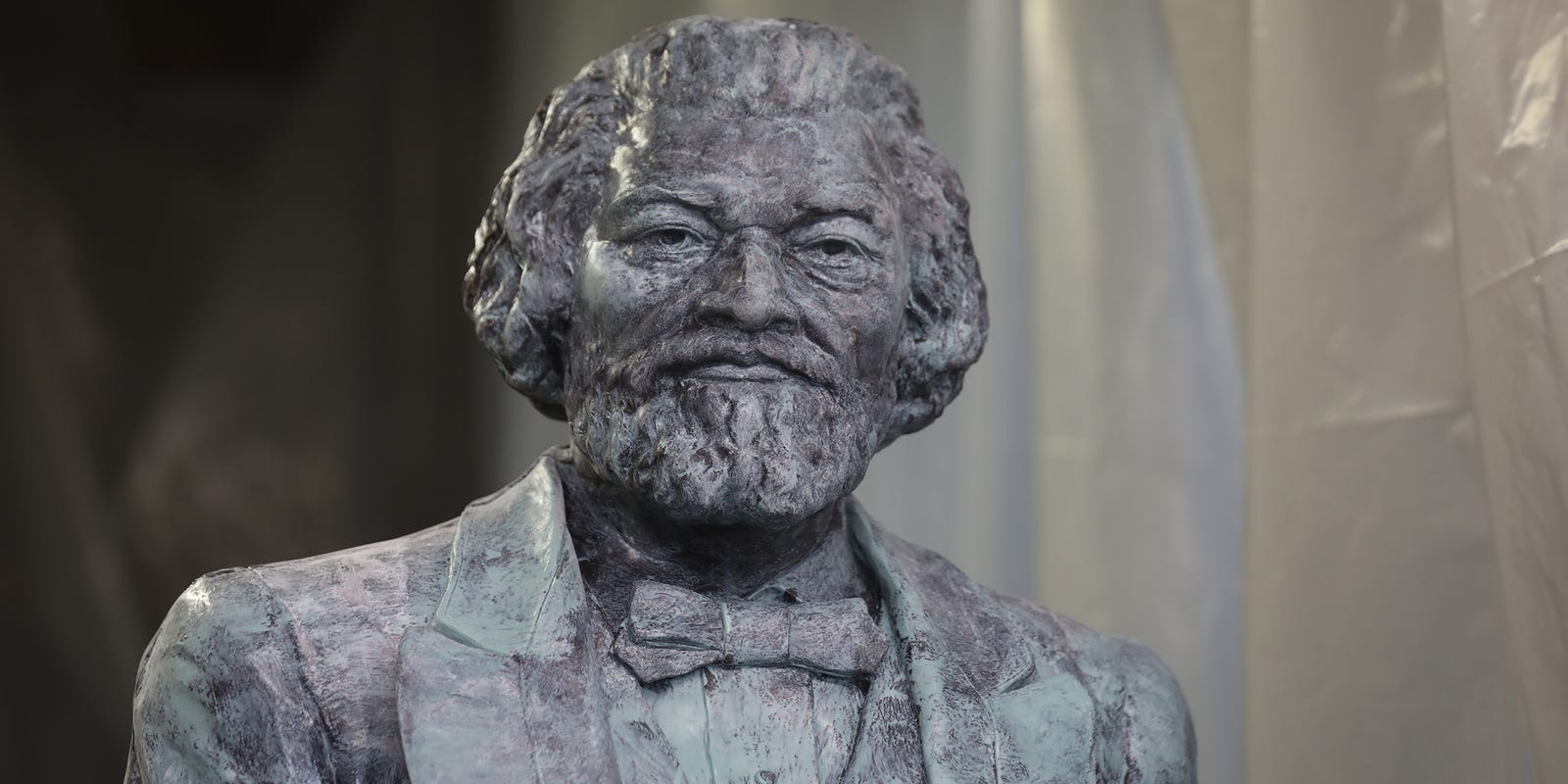Frederick Douglass statue in New York vandalized on anniversary weekend of 'What to the Slave is the Fourth of July' speech