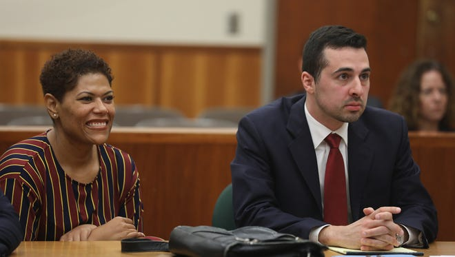 Judge Leticia Astacio pleaded not guilty of attempted criminal purchase or disposal of a weapon.