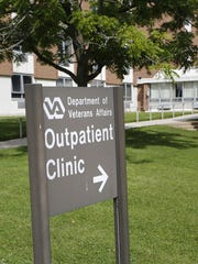 The Department of Veterans Affairs Outpatient Clinic Wednesday, July 15, 2015, located in Dewey Hall on the campus of the Indiana Veterans' Home. A care provider at the clinic has been suspended.
