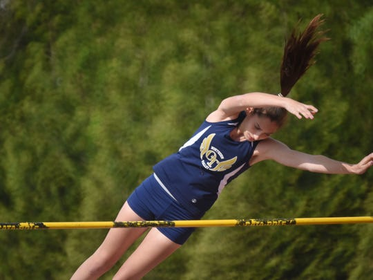 Marisa DiGia, Old Tappan, pole vault Big North 2 division track and field meet