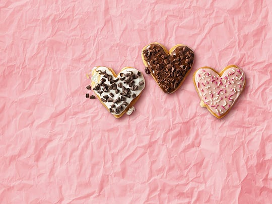 Dunkin' Donuts will have Valentine's-themed treats