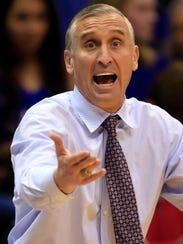 Arizona State head coach Bobby Hurley.