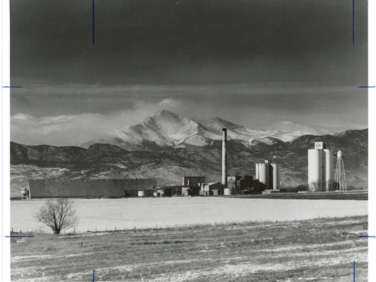 The former Longmont sugar plant.