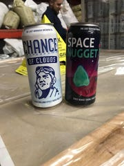 New canned offerings from Lost Borough Brewing.