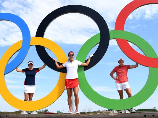 Olympic golf