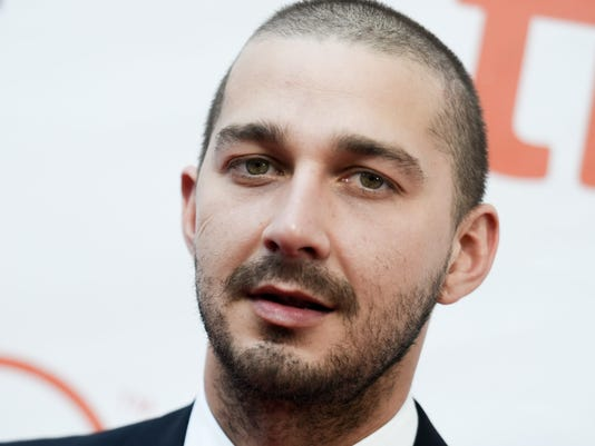 AP PEOPLE-SHIA LABEOUF I ENT FILE CAN