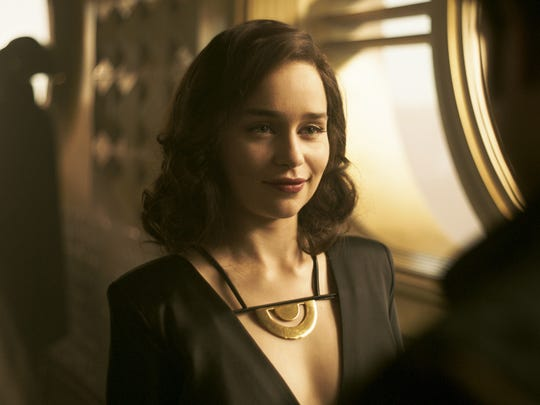 """Han Solo's love interest Qi'ra (Emilia Clarke) emerges as a complicated figure in """"Solo: A Star Wars Story."""""""
