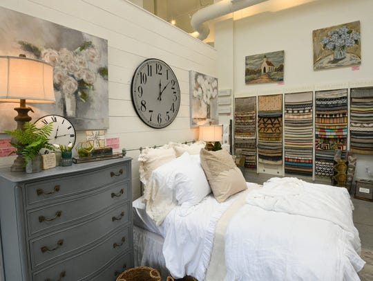 Home decor ideas at Back Porch Mercantile include bedding