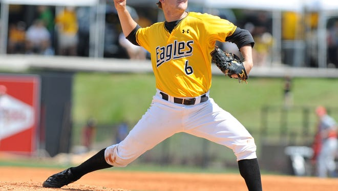 Southern Miss pitcher James McMahon was named C-USA pitcher of the year.