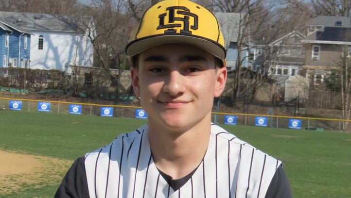 Junior Charlie O'Mealy is a pitcher/outfielder for