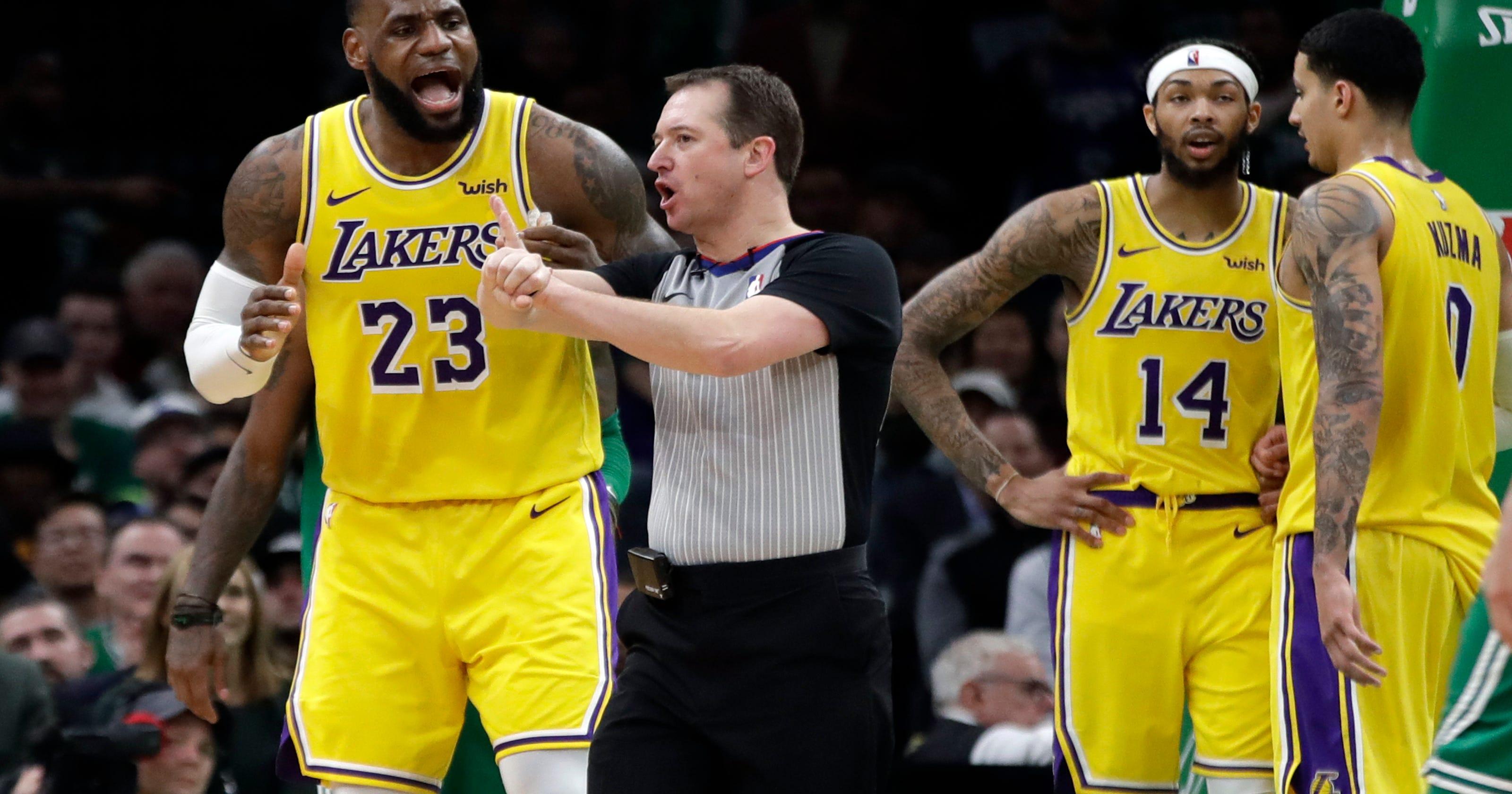 Rondo s jumper at buzzer lifts Lakers over Celtics 129-128 a42f35bd4
