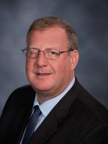 Michael T. Waters, chair of the Missouri Highways and Transportation Commission.