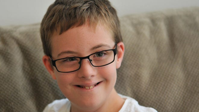 Kale Andrew Cleaver,10, who has Down Syndrome, will be a part of the November 7 Families Exploring Down Syndrome Buddy Walk in Cocoa Village.