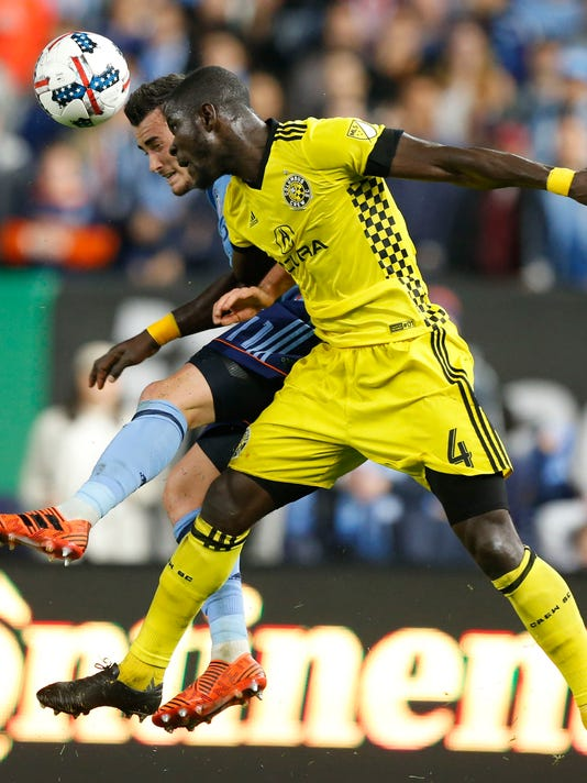 MLS: Eastern Conference Semifinal-Columbus Crew at New York City FC