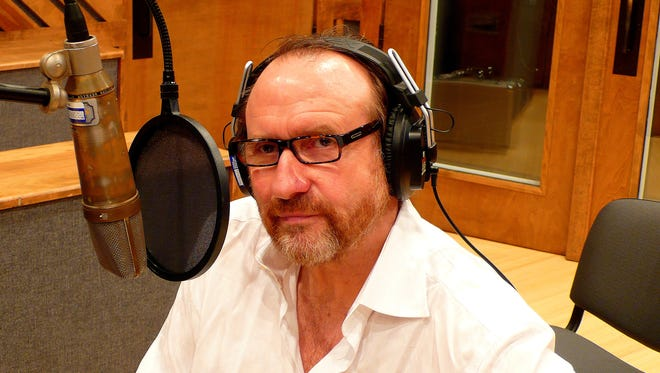 Former Men at Work lead singer Colin Hay records Aesop's fables at the Music+Art Studio in Midtown Memphis.