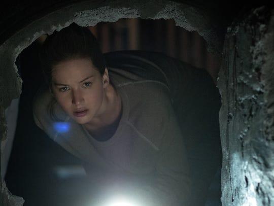 "Jennifer Lawrence stars in ""mother!"""