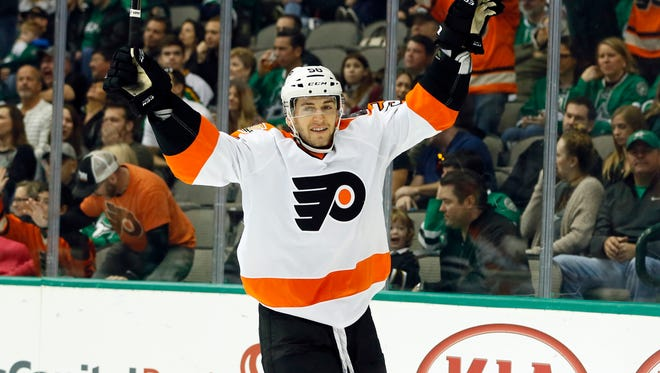 Taylor Leier has one career goal, which took a weight off his shoulders.