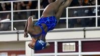Spotlight on: Gymnast Trinity Thomas' diving debut