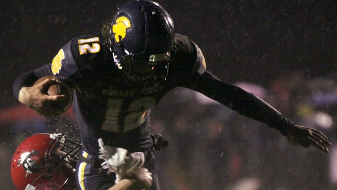 Wausau West quarterback Chandler Fochs rushed for three touchdowns in a win over Wausau East on Friday.