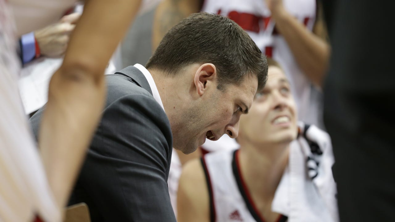 Louisville's Padgett after Cards beat Northern Kentucky in the NIT