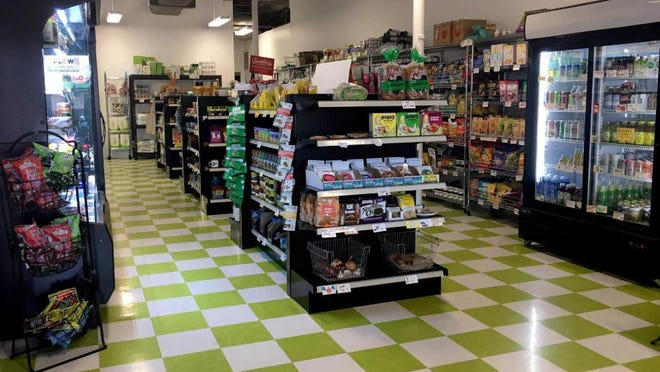 Rabbit Food Grocery is an all-vegan market at 2425 Exposition Blvd.