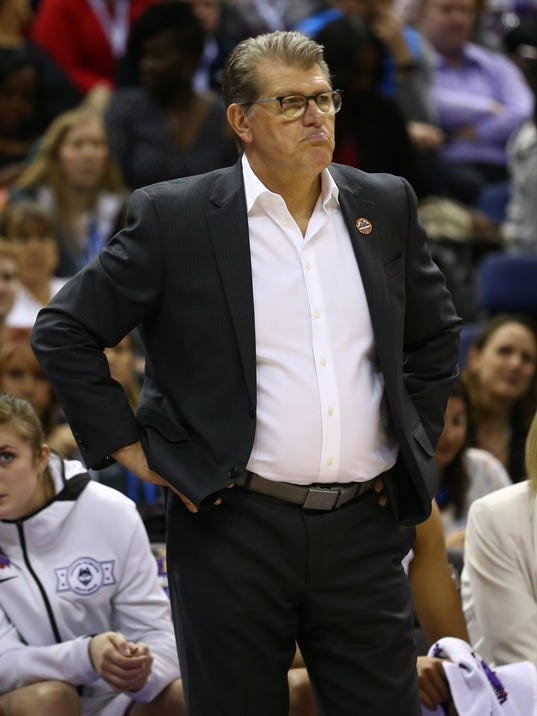 NCAA Womens Basketball: Final Four-Notre Dame vs. Connecticut