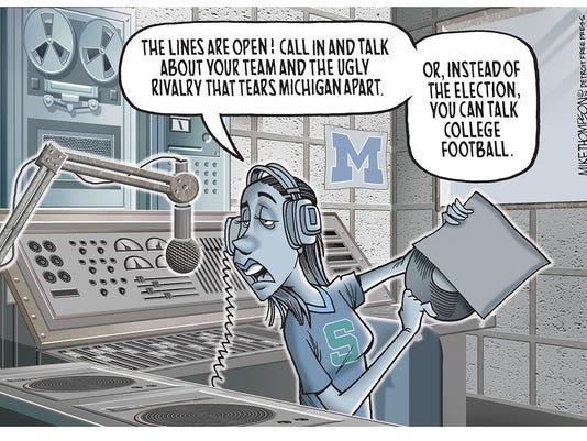 The big game in Michigan