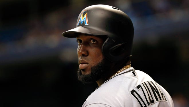 Marlins' Marcell Ozuna, batting .307, is on track for a second All-Star appearance.