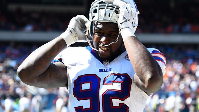 The Bills released Jarius Wynn Monday.