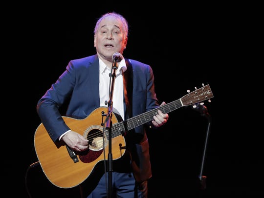 In a Sept. 22, 2016 file photo, musician Paul Simon