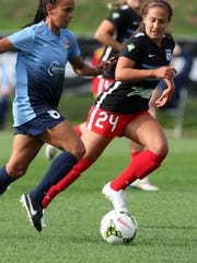 Women's Professional Soccer League game between the SkyBlue FC and the Chicago Red Stars played at Yurcak Field at Rutgers University in Piscataway Sunday June 28,2015