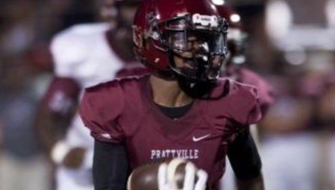 Prattvile (Ala.) wide receiver Cam Taylor