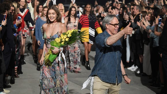 Gigi Hadid and Tommy Hilfiger close out their Venice,