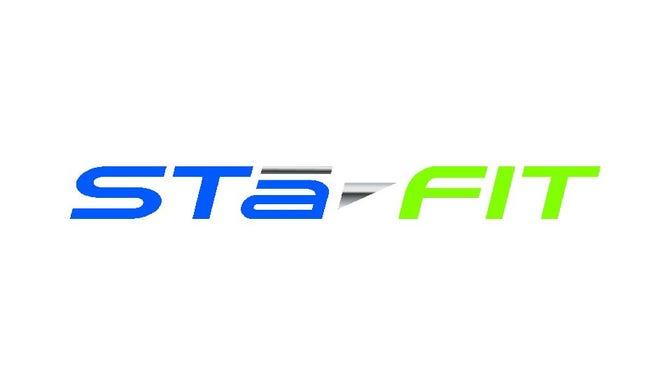 Sta-Fit logo.