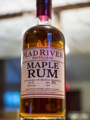 Maple rum from Mad River Distillers in Warren.