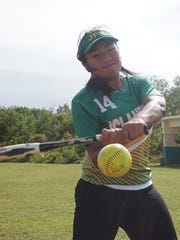 John F. Kennedy High senior Janise Santa Romana is back to defend the Islanders' championship after making first-team all-island as a junior.