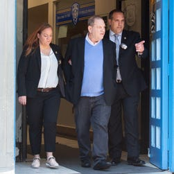 Harvey Weinstein formally charged with rape and a criminal sex act; posts $1M bail