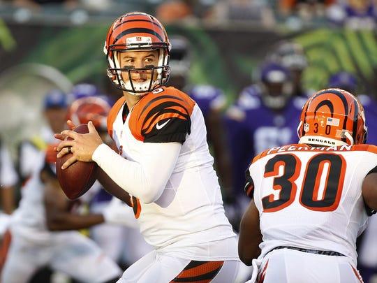 Bengals quarterback AJ McCarron