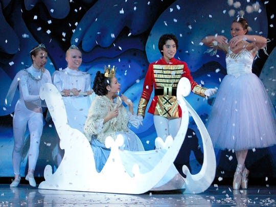"""Throughout 40 annual performances of the """"Nutcracker,"""""""