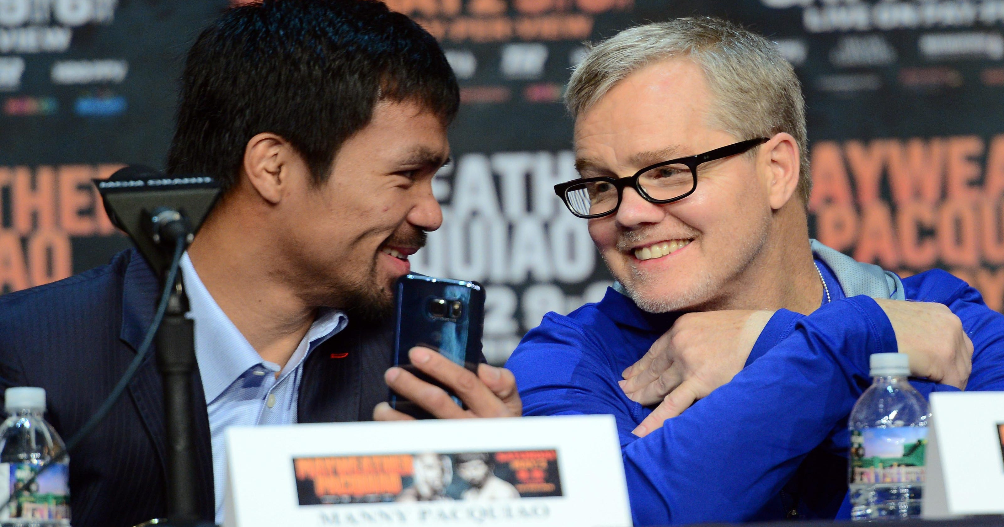 pretty nice b567b 709a8 Boxing trainer Freddie Roach is back with Manny Pacquiao, and free of  Parkinson s symptoms