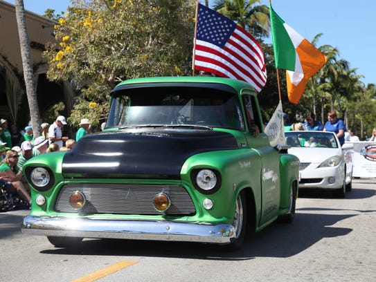 The Naples St. Patrick's Day Parade returns this Saturday.