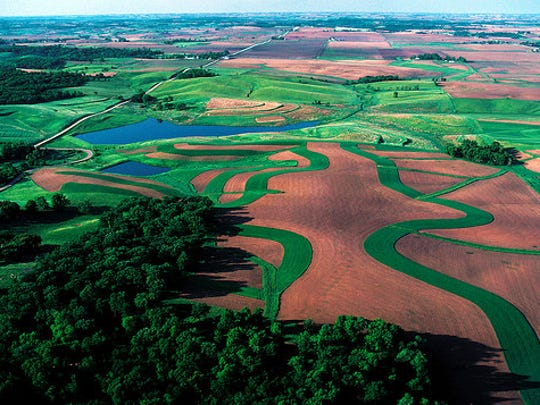 NRCS works with farmers to apply conservation practices