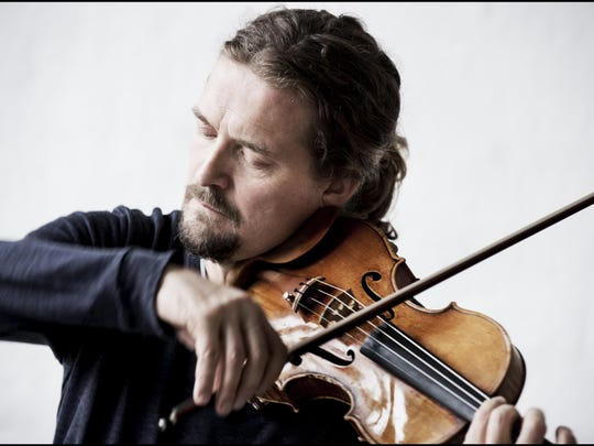 Violinist Christian Tetzlaff will perform Tuesday at