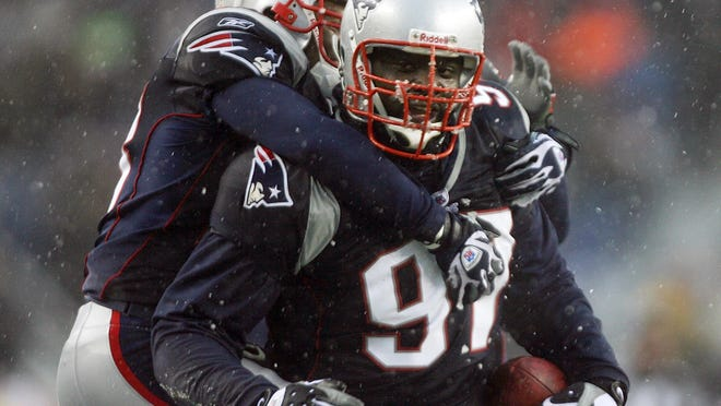 Jarvis Green spent eight seasons with the New England Patriots, winning two Super Bowls.
