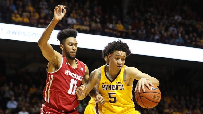 Wisconsin guard Jordan Hill is taking full advantage of his playing time.