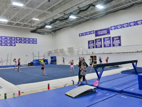 A gym currently used for gymnastics would be moved